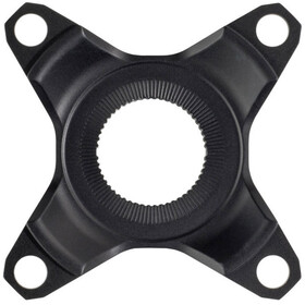 Shimano 4-arms adapter til STEPS SM-CRE80 53mm, black